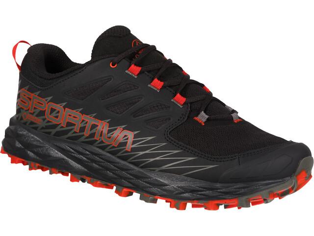 La Sportiva Lycan GTX Buty do biegania Mężczyźni, black/poppy
